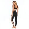Beach Riot Jade Brown Stripe Leggings