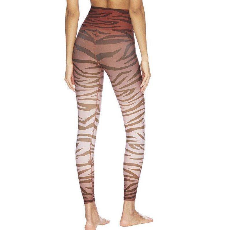 beach riot piper jungle rust leggings