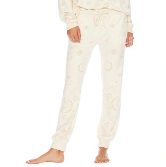 Star Sweatpants - Ivory