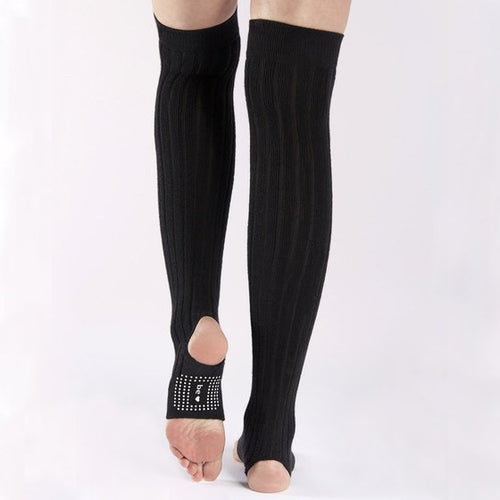 Thigh High Stirrup Leg Warmers (Barre / Pilates) - Sticky Be