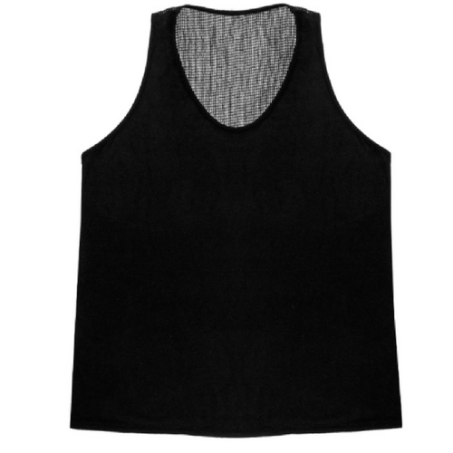 Mesh Scoop Neck Tank