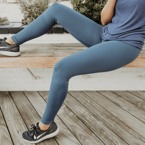 Broadway Navy Leggings