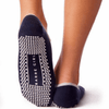 daphne barre girl grip sock in steel blue