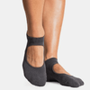 pointe studio Josie Grip Socks charcoal