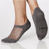 star grip shashi socks in gray for barre and pilates