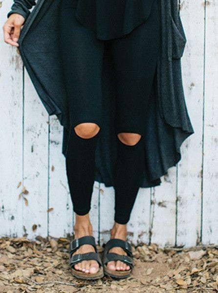 Cut Loose Leggings - Joah Brown