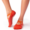daphne barre girl grip sock in orange