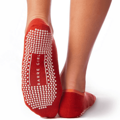 Daphne Cross-Strap Grip Sock (Barre / Pilates)