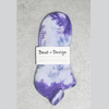 Daub + Design Orchid Grippy Sock