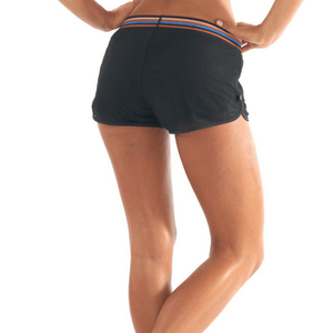 lurv Disco City Crop Shorts in black