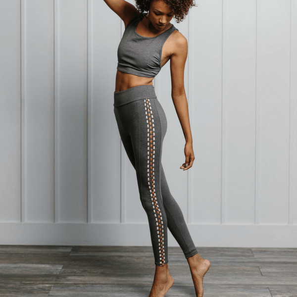 Dreamweaver Leggings - Heather Gray