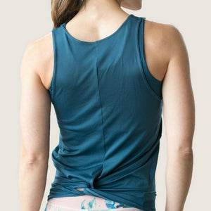DYI Be Centered Tank Teal
