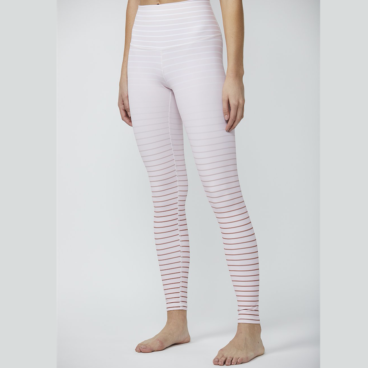 Dyi Clothing Legging Blush Rose Gold Ombre Tights Simplyworkout
