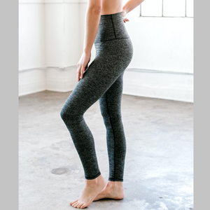 dyi herringbone tight legging charcoal