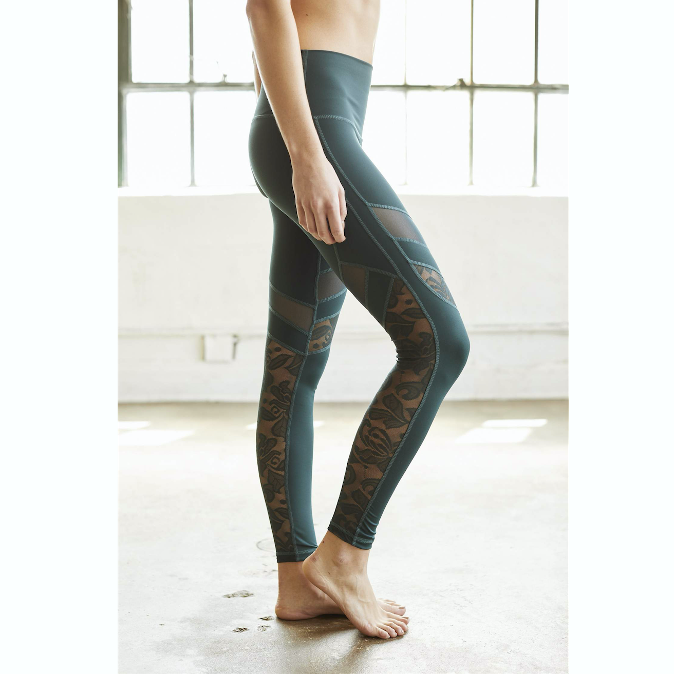 f7cba53c5f72c DYI CLOTHING - Lace Ready Legging in Forest Green – SIMPLYWORKOUT