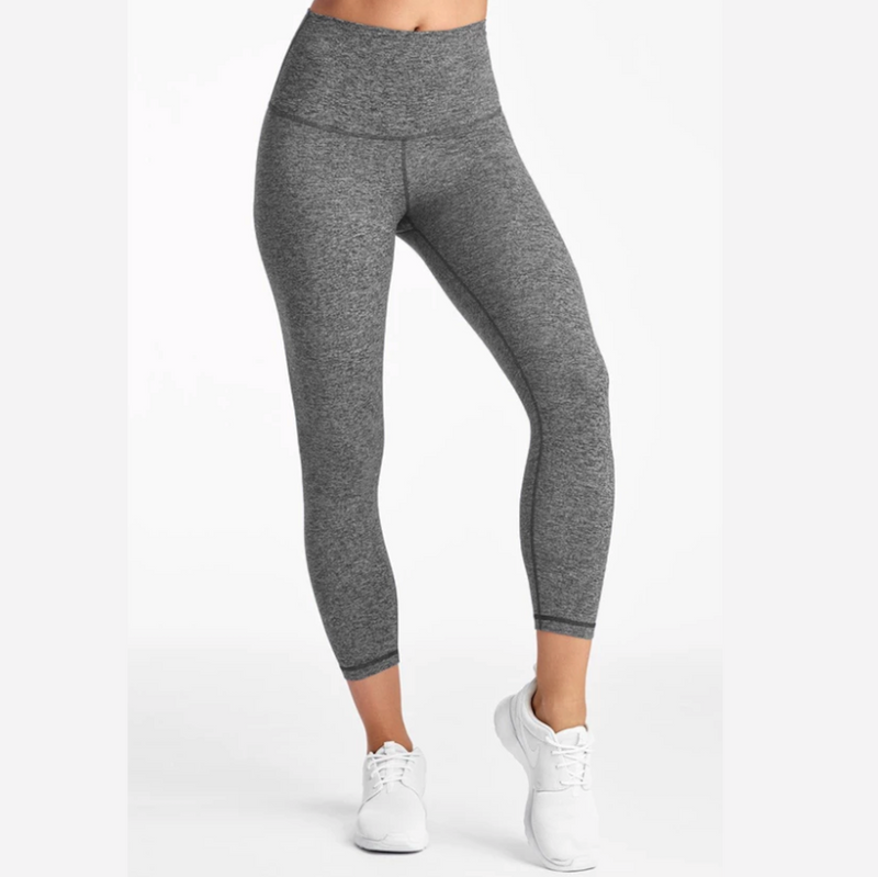 dyi jersey moss gray crop leggings