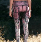 Teeki Eagle Feather Print - Hot Pant