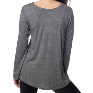 Emily Hsu Sunday Long Sleeve Top In White