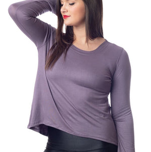 Emily Hsu Sunday Long Sleeve Top