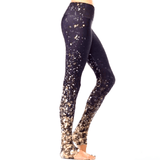 falling lights yoga pants by goldsheep clothing