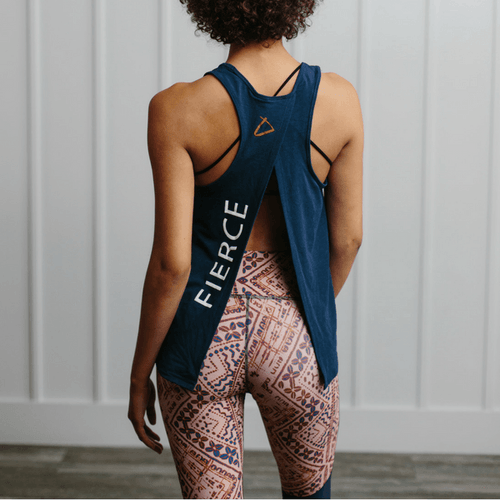 Fierce - Tie Back Tank