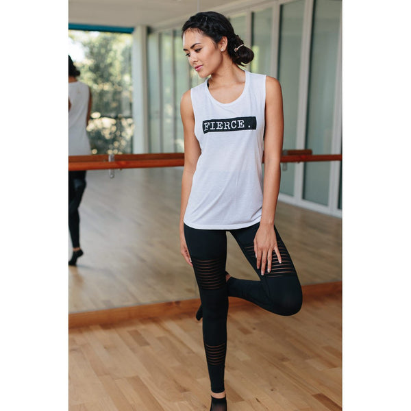 Fierce - Muscle Tank - simplyWORKOUT