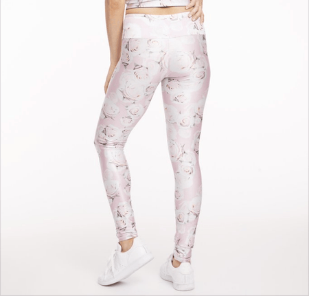 Rose Crochet - Crop Leggings