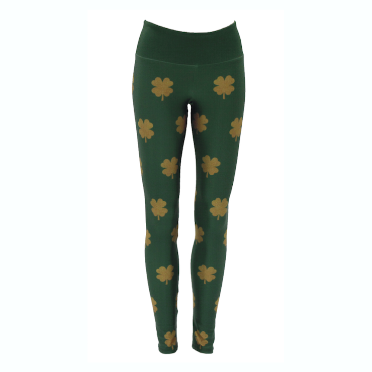 Goldsheep Leggings Gold Clovers