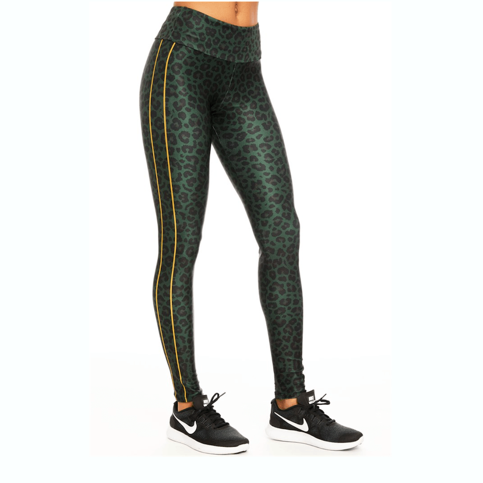 goldsheep leggings Leopard Green