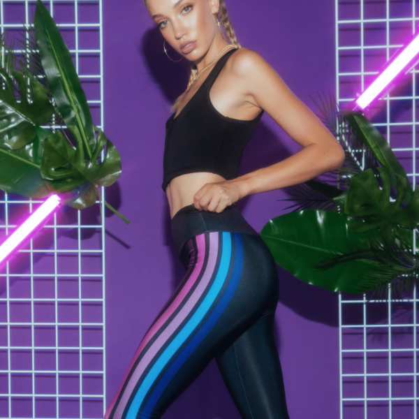 Goldsheep Leggings Neon Lucky Lanes