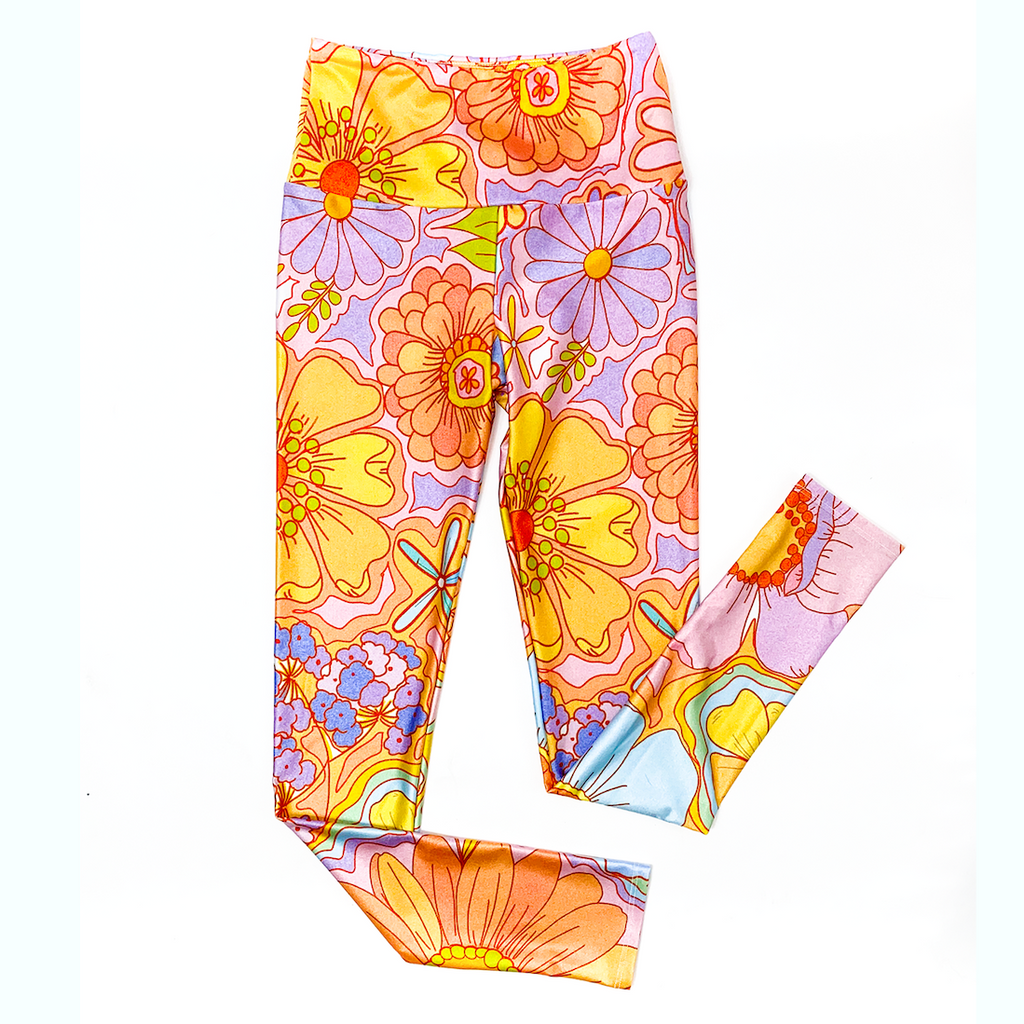 Goldsheep Darra Sargent Floral 7/8 Crop Leggings
