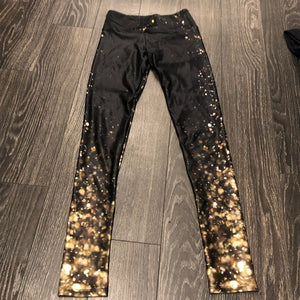 goldsheep falling lights leggings