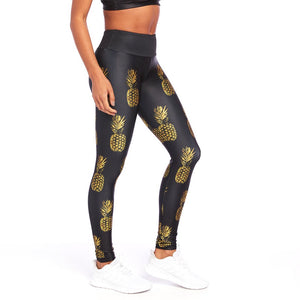 Goldsheep Golden Pineapples Legging