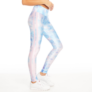 Iridescent Paper Leggings