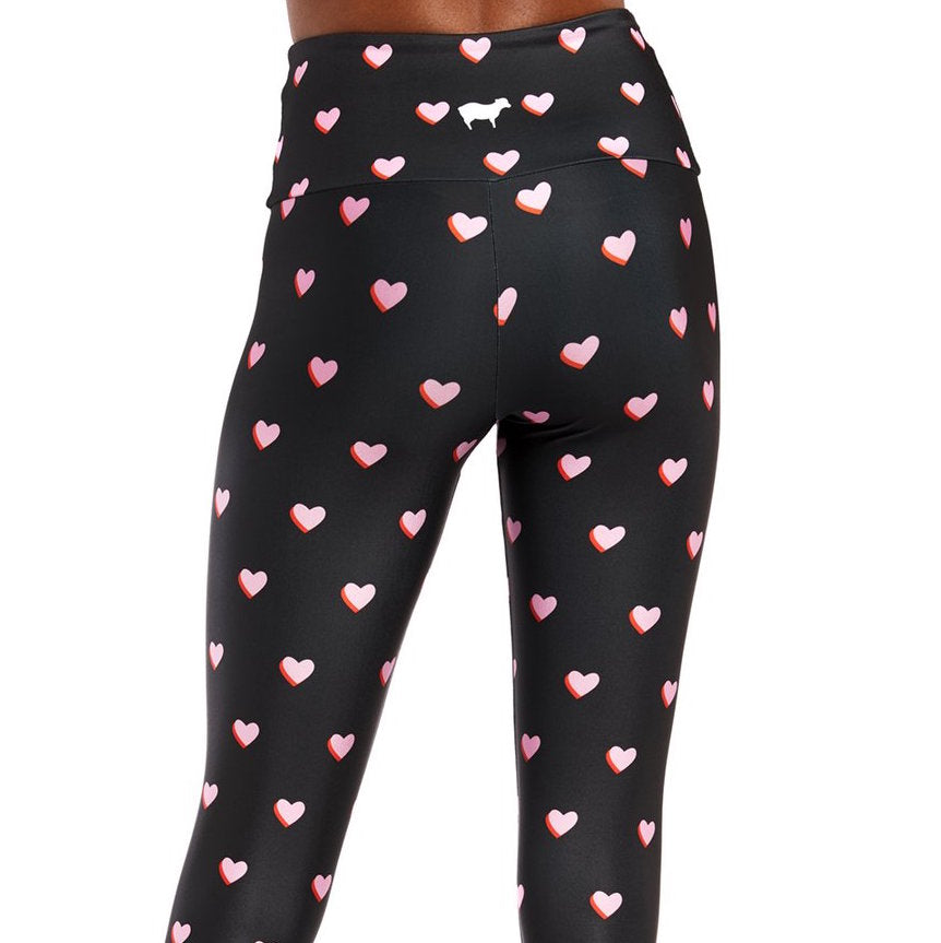 Goldsheep Mini Pink Hearts Legging