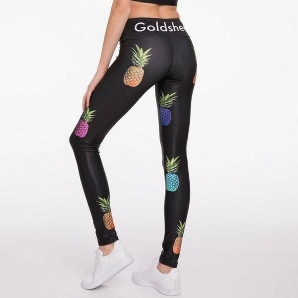 goldsheep apparel rainbow pineapple party pants