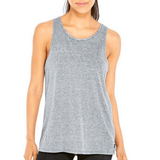Gray Hamsa - Burnout Muscle Tank
