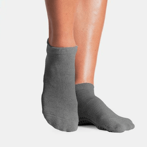pointe studio grip sock charcoal union