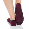 Great Soles Julia Ballet Grip Socks Wine