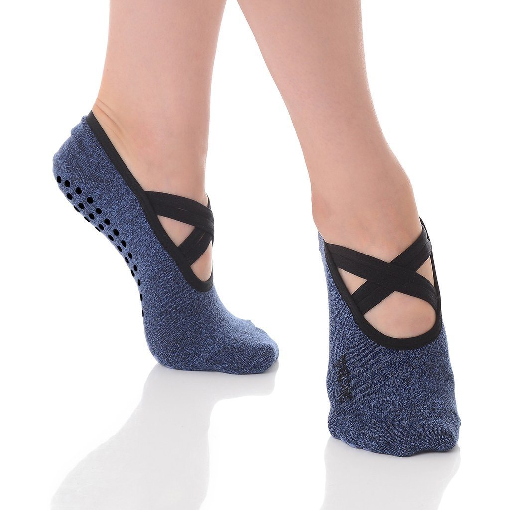 great soles Juliet Denim Grip Sock