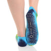 Great Soles Tie Dyed Multi Bright Grip Socks