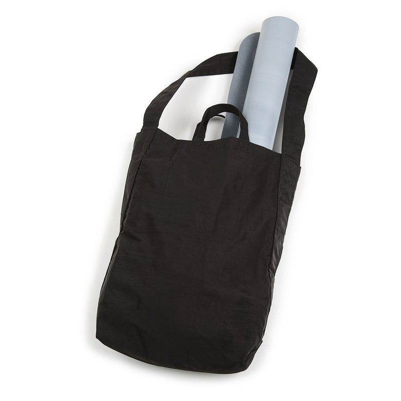 Bella Nylon Market Tote - Black