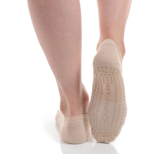 Great Soles Kaia Natural Low Cut Grip Socks