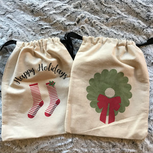 Grip Sock Bag - Grip Stockings Holiday