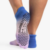 pointe studio wyatt blue purple grip socks