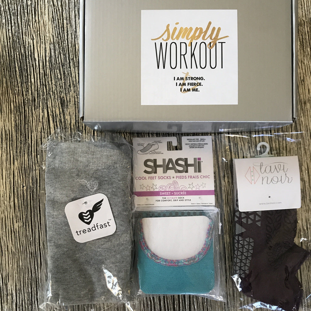 Grip Socks - Necessities Gift Box (set of 3) (Barre/Pilates)