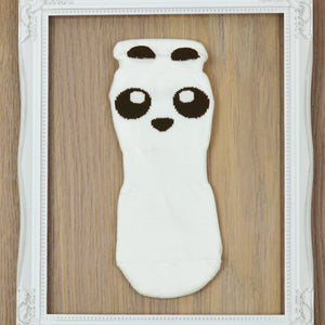 grippysox panda white grip socks