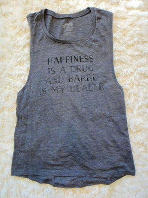 Barre Is My Dealer - Muscle Tank - simplyWORKOUT