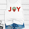 Joy Grip Sock Wreath - Muscle Tank