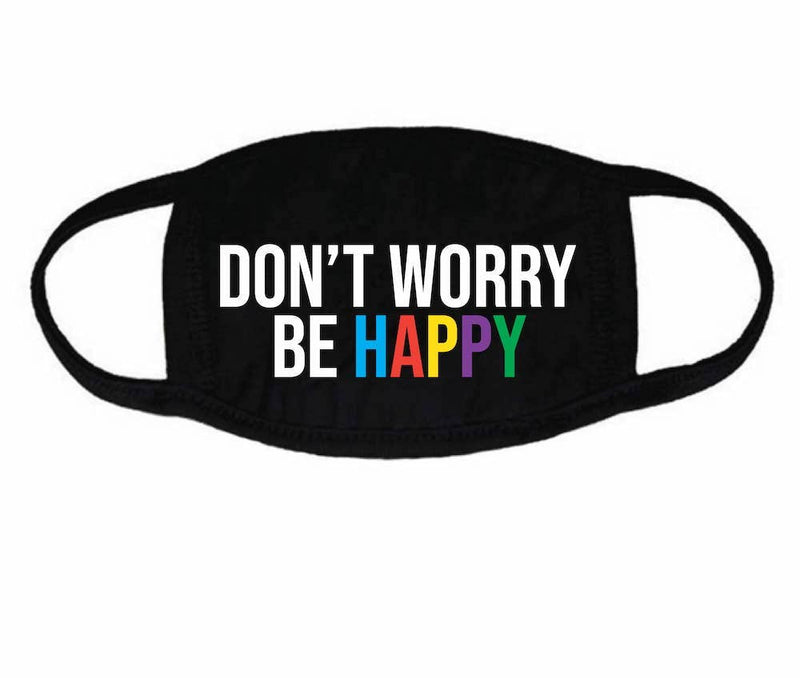 House of Tens - Don't Worry Be Happy Face Mask - Kids